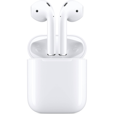 Apple AirPods 2 with Charging Case (2019) (white) (MV7N2)
