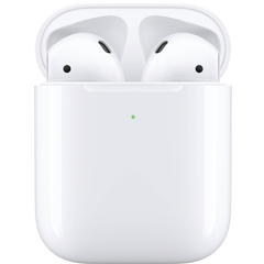 Apple AirPods 2 with Wireless Charging Case (2019) (white) (MRXJ2)
