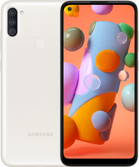 Samsung Galaxy A11 (2020) 2/32Gb (white) (SM-A115FZWNSEK)